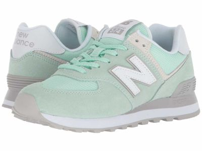 New Balance - New Balance Classics Women's Seafoam Overcast WL574v2 Lifestyle Sneakers