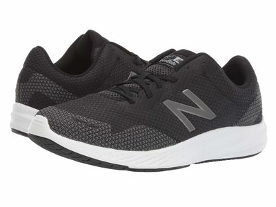 New Balance - New Balance Men Black/Castlerock 490V7 Running Shoes