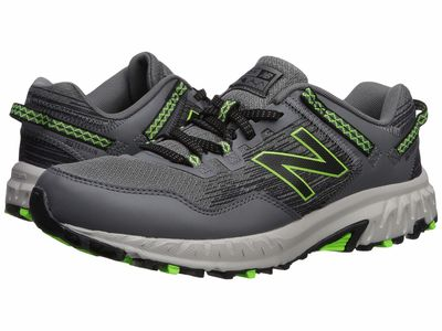 New Balance - New Balance Men Castlerock/Black/Rgb Green 410V6 Running Shoes