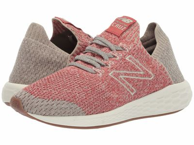 New Balance - New Balance Men Raw Clay/Stoneware Fresh Foam Cruz V2 Sock Fit Running Shoes