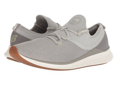 New Balance - New Balance Men Stone Grey/White Fresh Foam Lazr Heathered Running Shoes