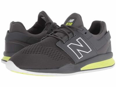 New Balance - New Balance Men's Magnet/Solar Yellow MS247v2 Lifestyle Sneakers