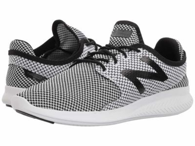 New Balance - New Balance Men's White Black 2 Coast v3 Running Shoes