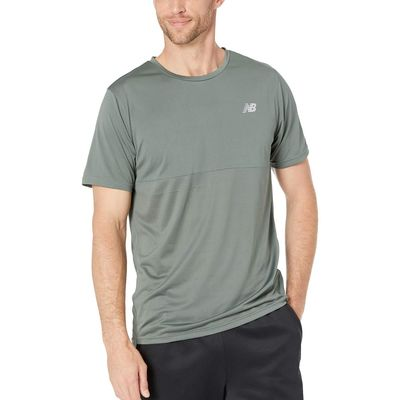 New Balance - New Balance Slate Green Accelerate Short Sleeve