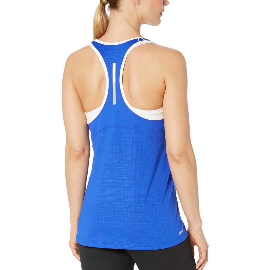 New Balance Uv Blue Nb Ice 2.0 Print Tank Top