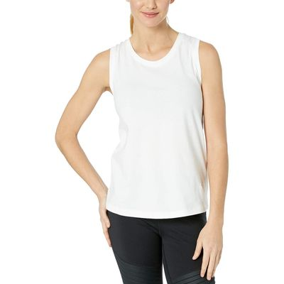 New Balance - New Balance White Athletics Racerback Tank Top