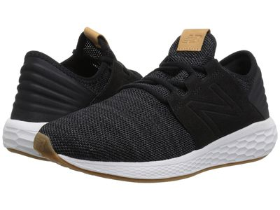 New Balance - New Balance Women Black/Magnet Fresh Foam Cruz V2 Knit Running Shoes
