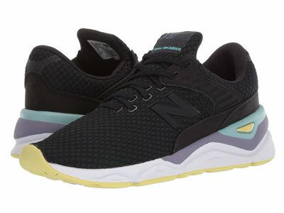 New Balance - New Balance Women Black/Mineral Sage Wsx90V1 Lifestyle Sneakers