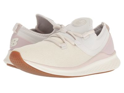 New Balance - New Balance Women Moonbeam/Sea Salt Fresh Foam Lazr Heathered Running Shoes