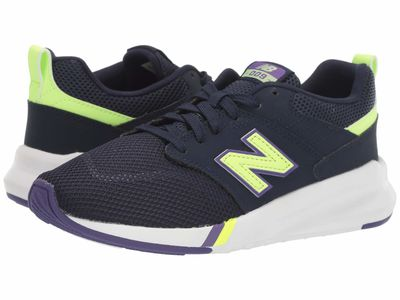New Balance - New Balance Women Pigment/Bleached Lime Glo 009 Modern Classic Running Shoes