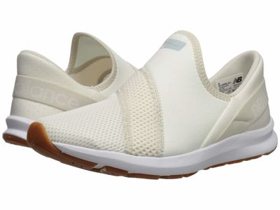 New Balance - New Balance Women Sea Salt/Moonbeam Nergize Easy Slip-On Lifestyle Sneakers