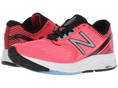 New Balance - New Balance Women Vivid Coral/Black/Clear Sky 890V6 Lifestyle Sneakers