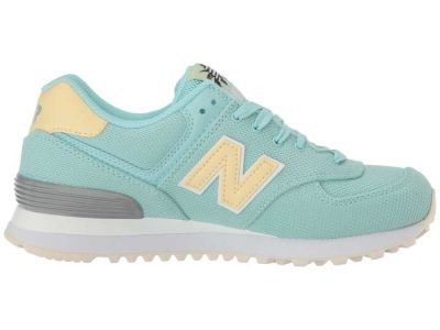 New Balance - New Balance Women's Ozone Blue Glo WL574 Sneakers Athletic Shoes 9047535749733