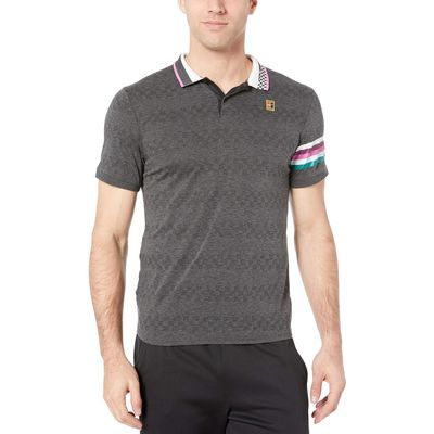 Nike - Nike Black Nikecourt Advantage Polo Mb Nt