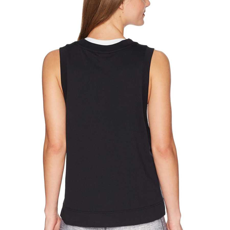 Nike Black Sportswear Metallic Tank Top