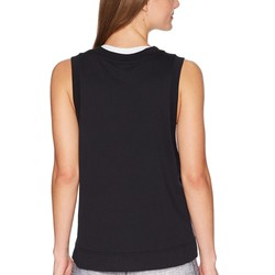Nike Black Sportswear Metallic Tank Top - Thumbnail