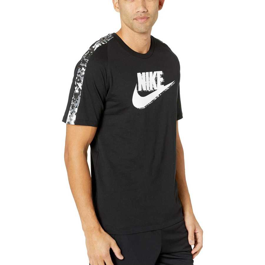 Nike Black Statement Camo Tee