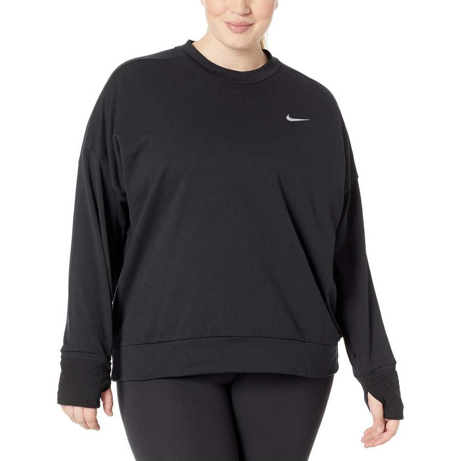 Nike Black Thermasphere Element Top (Sizes 1X-3X)