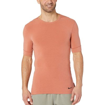 Nike - Nike Dusty Peach/Bemis Pitch Dry Top Short Sleeve Transcend