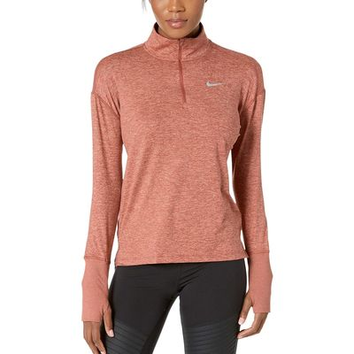 Nike - Nike Dusty Peach/Rose Gold/Reflective Silver Element 1/2 Zip Top
