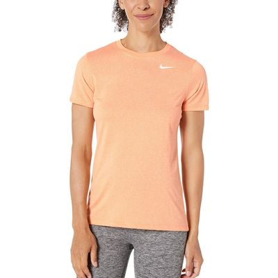 Nike - Nike Fuel Orange/Heather/White Dry Legend Tee Crew