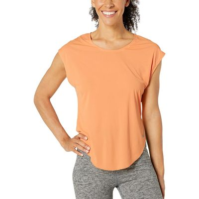 Nike - Nike Fuel Orange/Reflective Silver City Sleek Top Short Sleeve