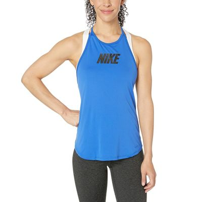 Nike - Nike Game Royal/Black Training Elastika Sport Distort Graphic Tank