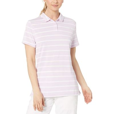 Nike - Nike Golf Lilac Mist/White/Lilac Mist Dry Polo Short Sleeve Stripe