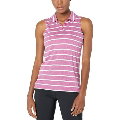 Nike - Nike Golf True Berry/True Berry Dry Polo Sleeveless Stripe