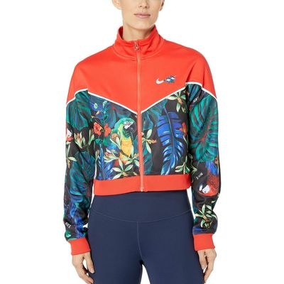 Nike - Nike Light Crimson/Black/White Nike Sportswear Jacket Full Zip Hyper Femme