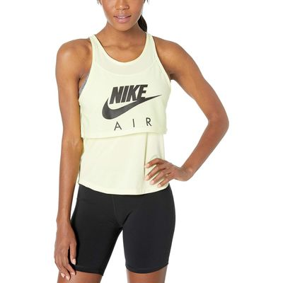 Nike - Nike Luminous Green/Black Air Tank Graphic