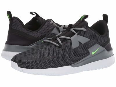 Nike - Nike Men Black/Electric Green/Cool Grey Renew Arena Spt Running Shoes