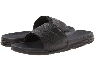 Nike - Nike Men Black/Anthracite Benassi Solarsoft Slide 2 Active Sandals
