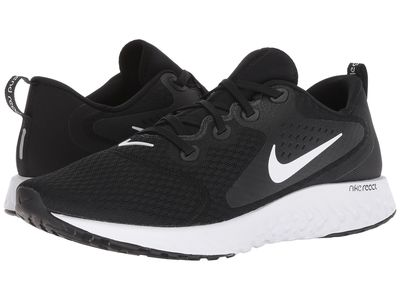 Nike - Nike Men Black/White Legend React Running Shoes