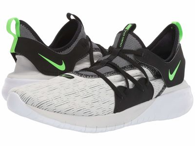 Nike - Nike Men Platinum Tint/Electric Green/Black/White Flex Contact 3 Running Shoes