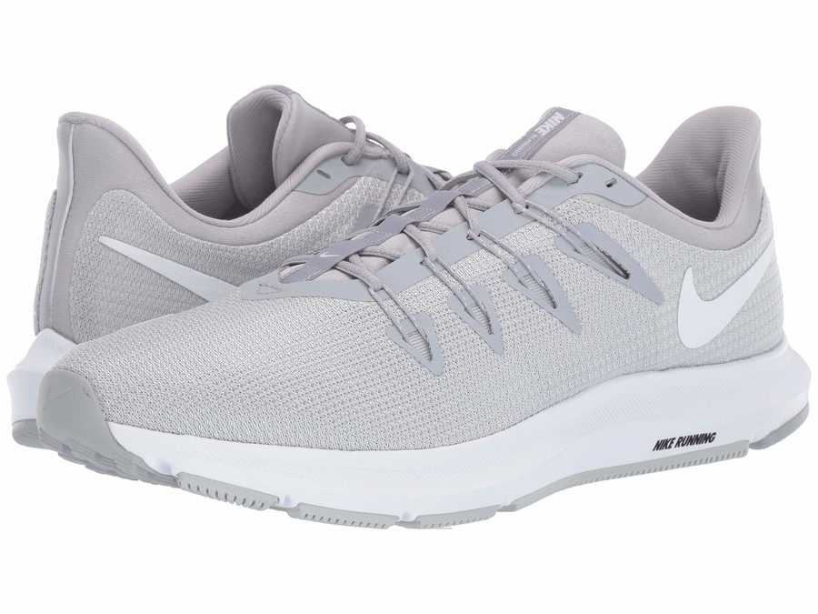 Nike Men Wolf Grey Quest Running Shoes