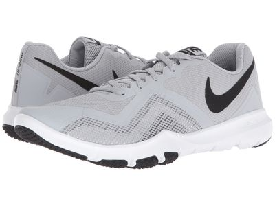 Nike - Nike Men Wolf Grey/Black/White/Cool Grey Flex Control İi Athletic Shoes