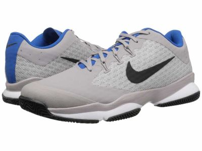 Nike - Nike Men's Atmosphere Grey Black White Blue Nebula Air Zoom Ultra Athletic Shoes