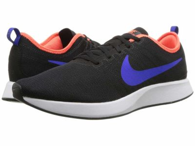 Nike - Nike Men's Black Racer Blue Total Crimson White Dualtone Racer Athletic Shoes