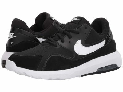 Nike - Nike Men's Black White Air Max Nostalgic Lifestyle Sneakers