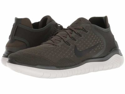 Nike - Nike Men's Cargo Khaki Black Sequoia Free RN 2018 Running Shoes