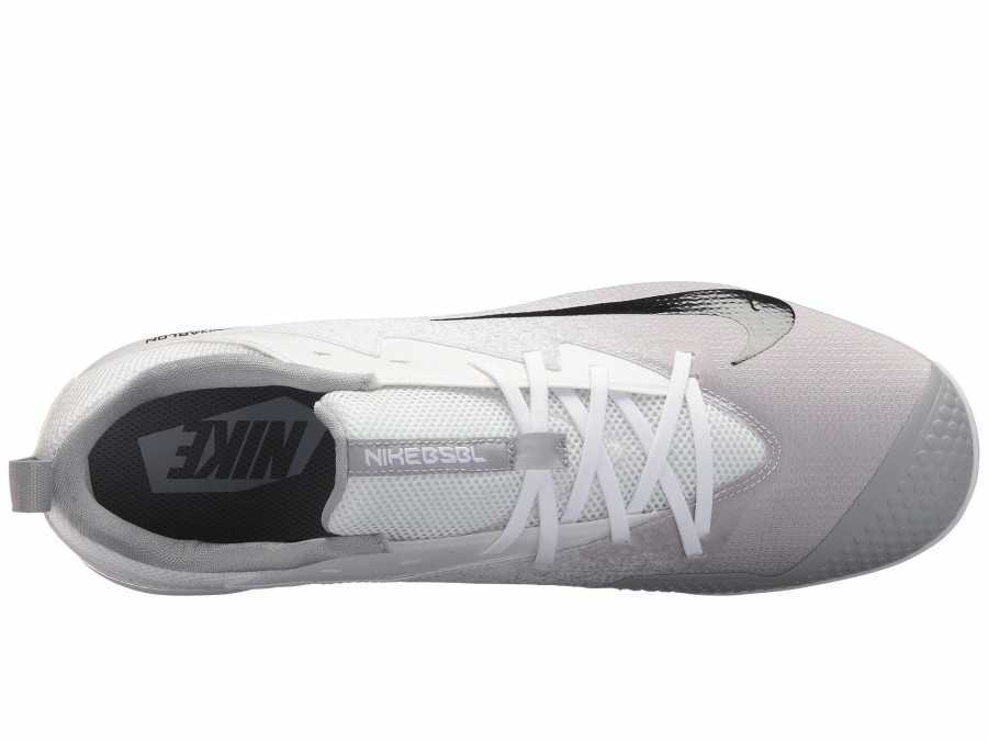 Nike Men's White/Black/Wolf Grey Vapor Ultrafly Pro Cleats