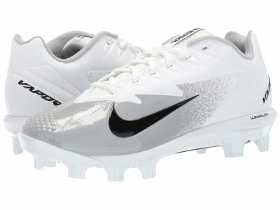 Nike - Nike Men's White Black Wolf Grey Vapor Ultrafly Pro MCS Cleats