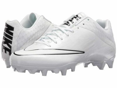 Nike - Nike Men's White White Black Vapor Speed 2 Lacrosse Cleat Cleats