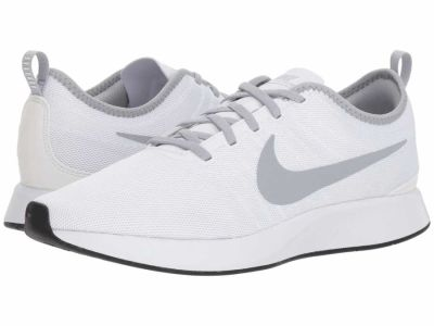 Nike - Nike Men's White Wolf Grey Black Dualtone Racer Athletic Shoes