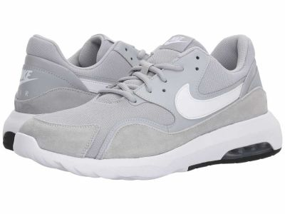Nike - Nike Men's Wolf Grey White Black Air Max Nostalgic Lifestyle Sneakers