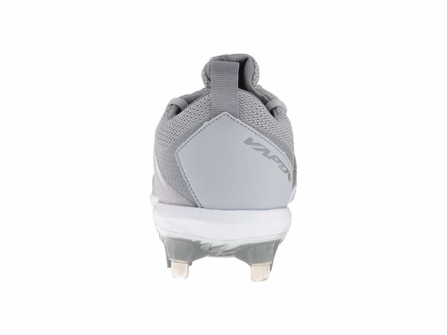 Nike Men's Wolf Grey/White/Cool Grey/Cool Grey Vapor Ultrafly Elite Cleats