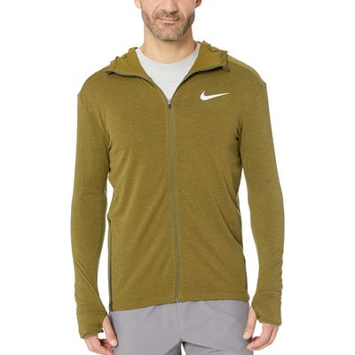 Nike - Nike Olive Canvas Sphere Element Hoodie Full Zip 2.0