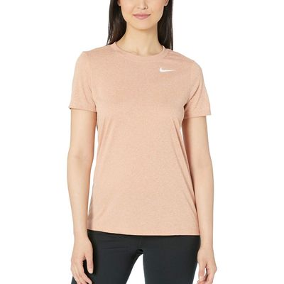 Nike - Nike Rose Gold/Heather Dry Legend Tee Crew