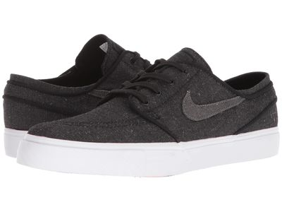Nike Sb - Nike Sb Men Black/Anthracite/White/Hyper Royal Zoom Stefan Janoski Canvas Deconstructed Athletic Shoes